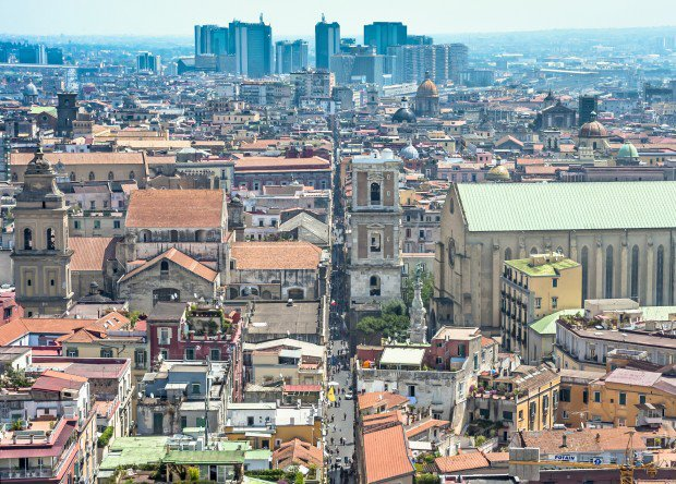 Naples city center by Visit Naples Italy
