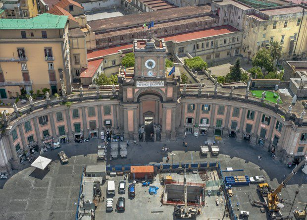 Piazza Dante by Visit Naples Italy