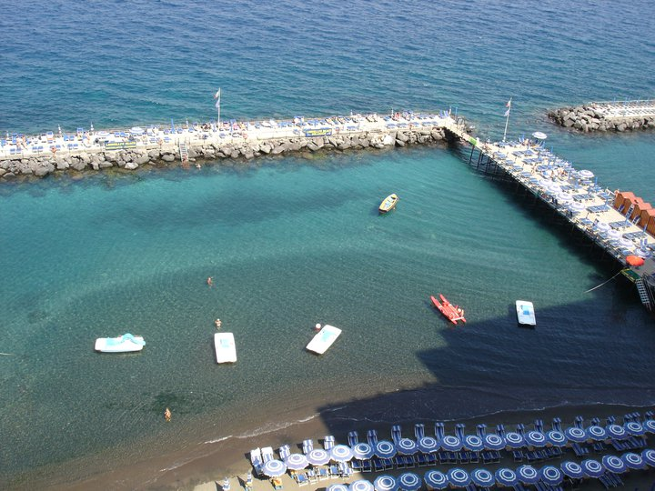 Sorrento bathing area