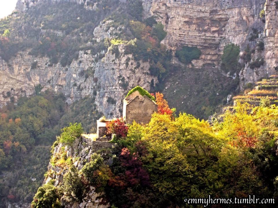 Amalfi Coast views from Path of the God hike